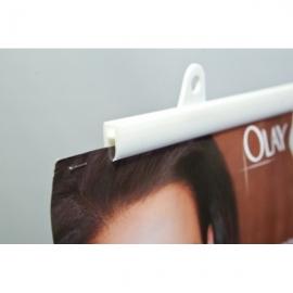 Пластиковый профиль для баннеров и плакатов